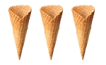 Large Waffle Cone    180 per case  (Item# 89)