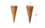Sugar Cone   400 per case  (Item# 442)